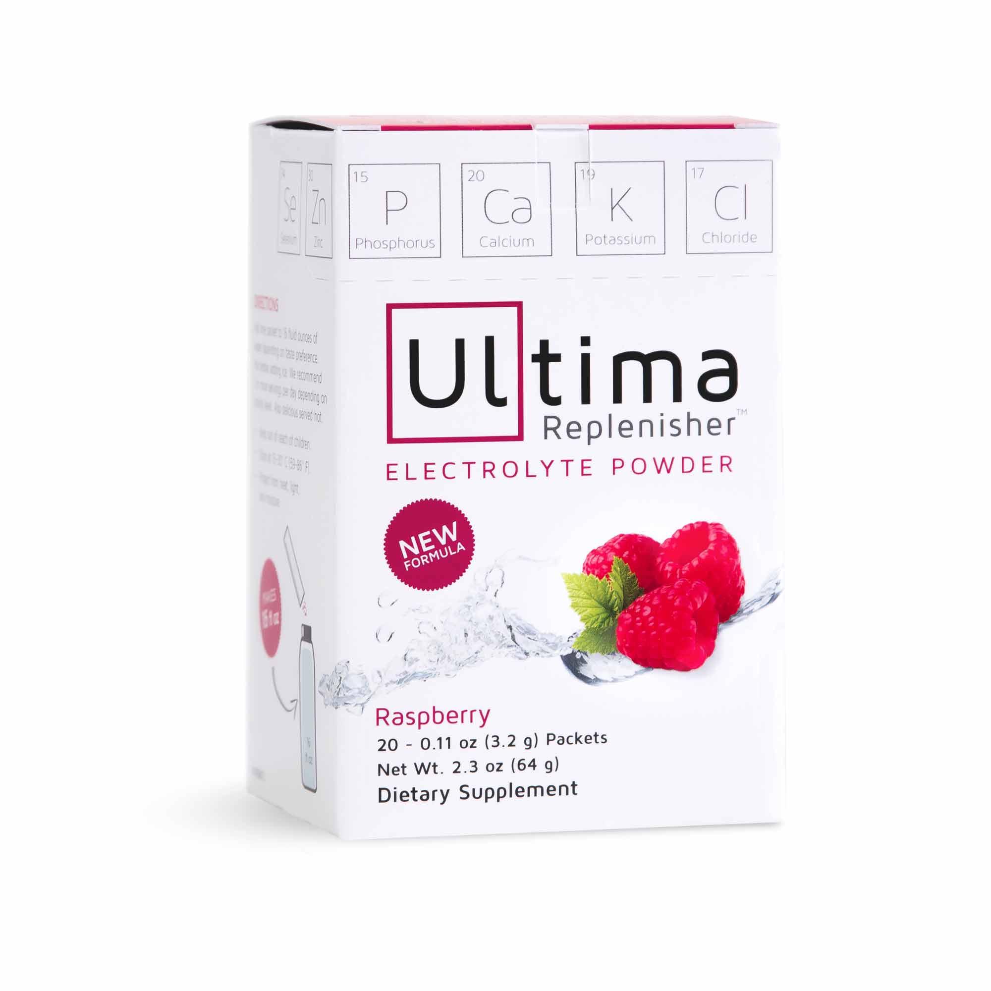 ultima newzealand Hydration powder boxes raspberry