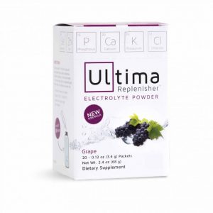 ultima replenisher Australia grape flavour electrolytes non gmo
