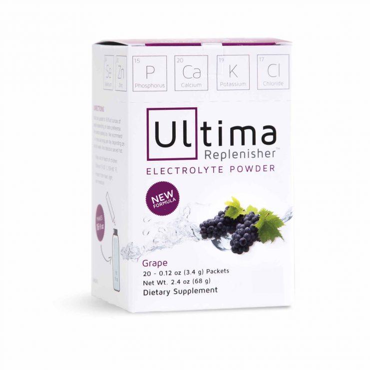 ultima replenisher Australia grape flavour electrolytes non gmo