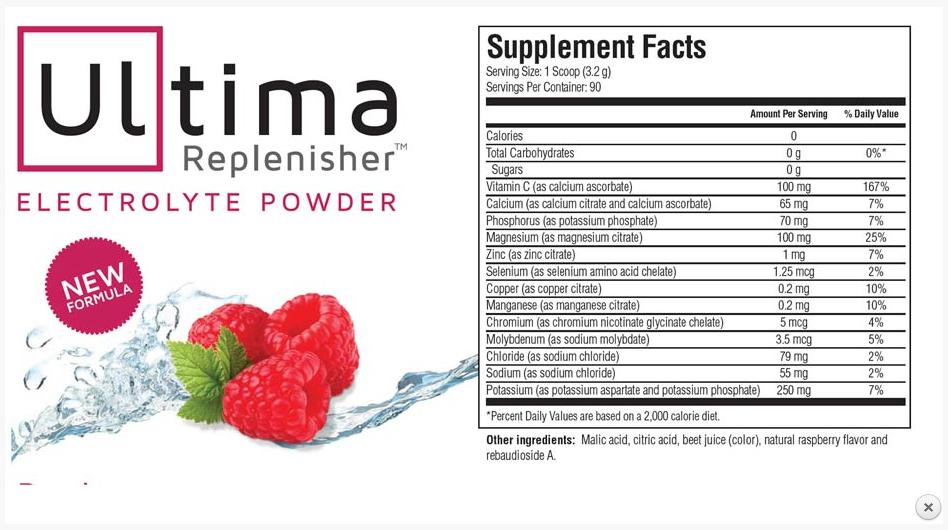 ultima replenisher hydration powder new-zeland