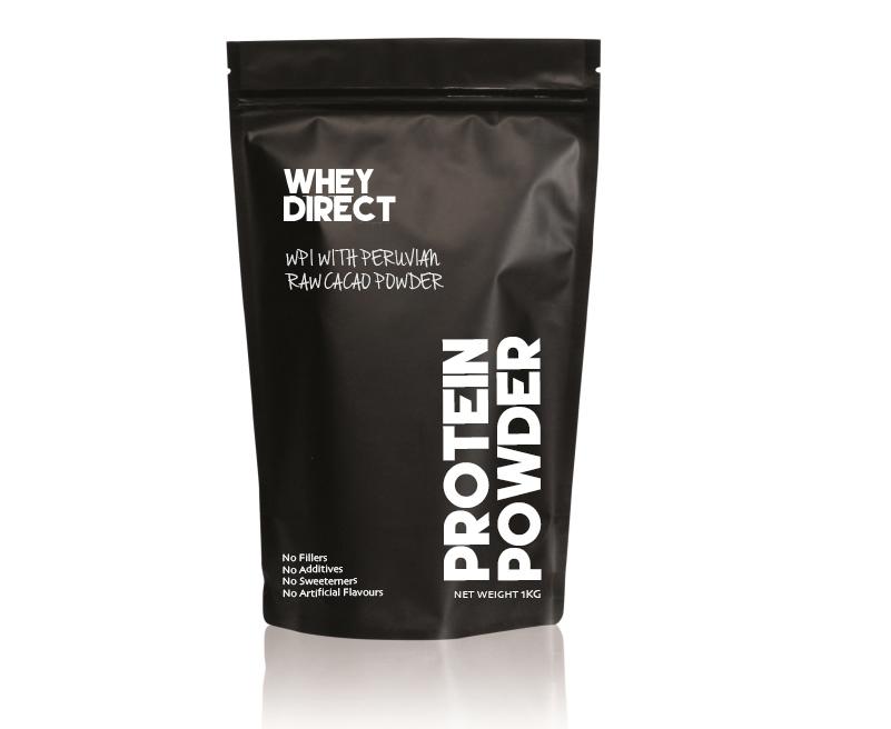 Whey Direct WPI with Peruvian Raw Cacao Powder