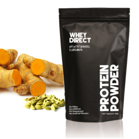 Whey Direct new Zealand whey protein isolate with turmeric & cardamon copy