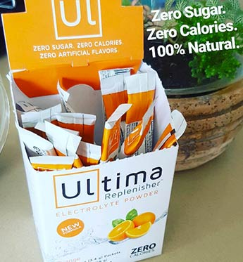 WheyDirect Ultima Replenisher orange Flavour.