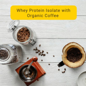 New Zealand Whey Protein With Organic Coffee