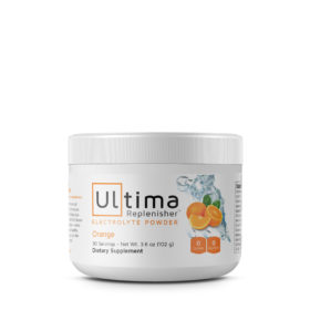 Orange Ultima Replenisher Tub 30 serving WheyDirect Australia
