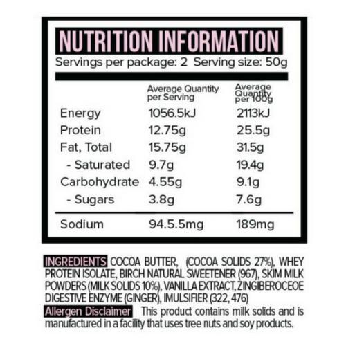 Protein White Chocolate Australia