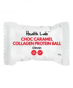 Choc Caramel Collagen Protein Balls